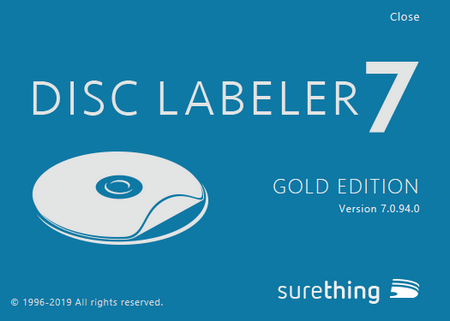 SureThing Disk Labeler Deluxe Gold 7.0.94.0 Full İndir