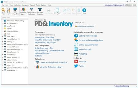 PDQ Inventory 18.4 Enterprise Full İndir