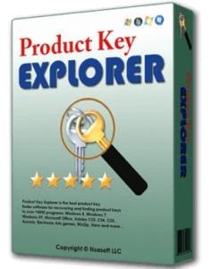 Nsasoft Product Key Explorer 4.2.3.0 Portable Full İndir