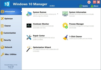 Yamicsoft Windows 10 Manager 3.3.1 Full İndir