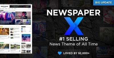 Newspaper v10.3.3 - Wordpress News Tema