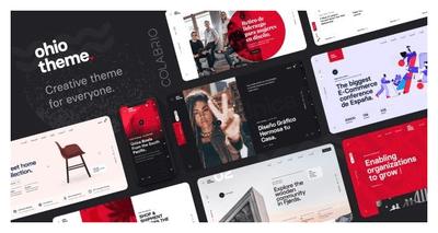 Ohio v1.0.9 - Creative Portfolio & Agency WordPress Tema