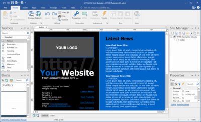 WYSIWYG Web Builder 15.4.5 Full İndir