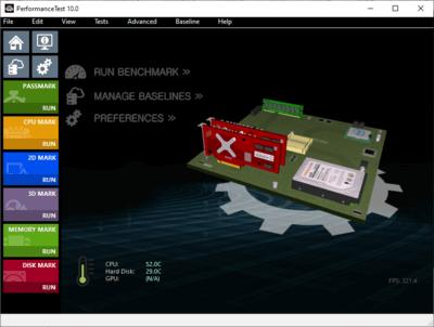PassMark PerformanceTest 10.0 Build 1008 Full İndir