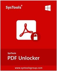SysTools PDF Unlocker 4.0.0.0 Full İndir